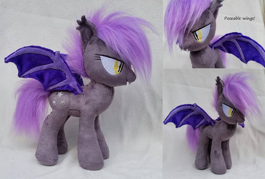 Bat pony Midnight blossom - halloween special - by Epicrainbowcrafts