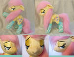 Fluttershy plushie (poseable)