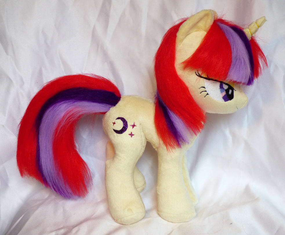 Add some moon to that dancer! Moondancer plushie by Epicrainbowcrafts