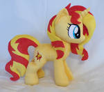Sunset shimmer plush new pattern *Comissions open*