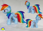Rainbow Dash medium plush