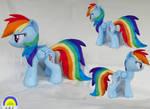 Rainbow Dash medium plush