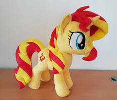 Sunset shimmer small plush comission by Epicrainbowcrafts
