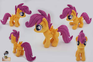 Beanie Scootaloo - Bronycon 2017 by Epicrainbowcrafts