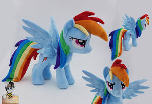 Rainbow Dash new small plush pattern by Epicrainbowcrafts