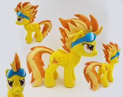 Spitfire small plush Bronycon 2017 by Epicrainbowcrafts