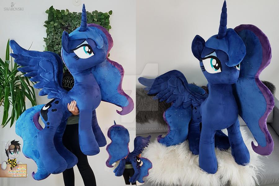 Lifesize standing Princess Luna swarovski crystals