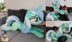 Lifesize Lyra plushie by Epicrainbowcrafts