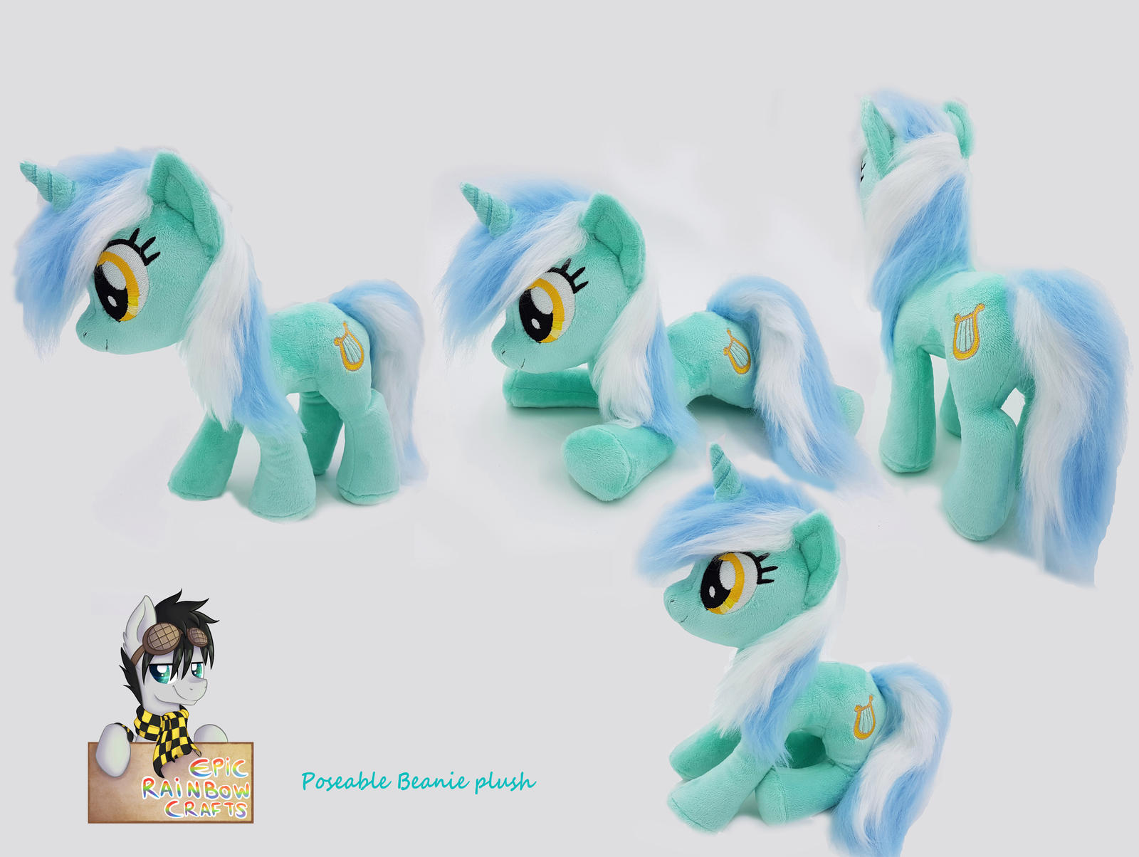 Beanie Lyra plushie poseable - with video