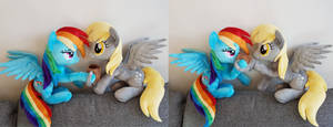 <b>Cider Dash And Derpy... Hic!</b><br><i>Epicrainbowcrafts</i>