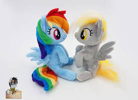 <b>Dash And Derpy Mini Beanies</b><br><i>Epicrainbowcrafts</i>