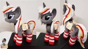 Velvet Remedy plushie fallout Equestria