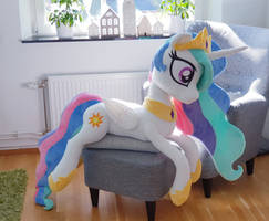 Lifesize Princess Celestia 2018 by Epicrainbowcrafts