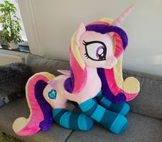 Lifesize Princess Cadence 50 inches tall by Epicrainbowcrafts