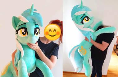 Lifesize Lyra 50 inches /130cm 3D eyelashes by Epicrainbowcrafts