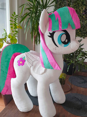 Blossomforth Cuddle size plushie by Epicrainbowcrafts