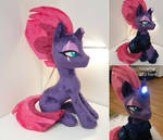 Tempest shadow - with glowing LED horn and  armor