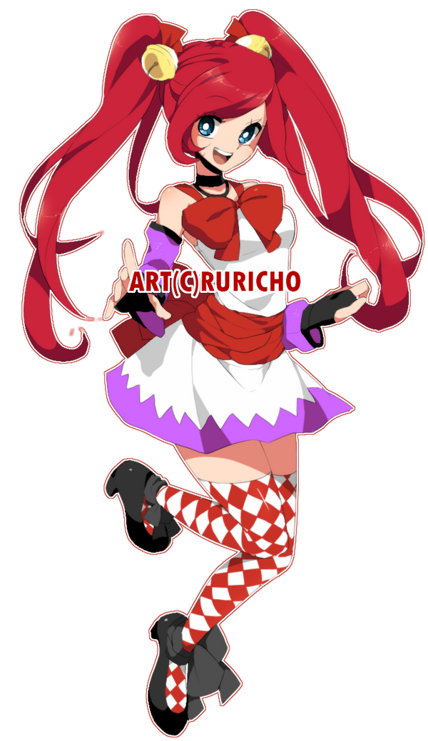 Commission: xo-Sakura-chan by IIama