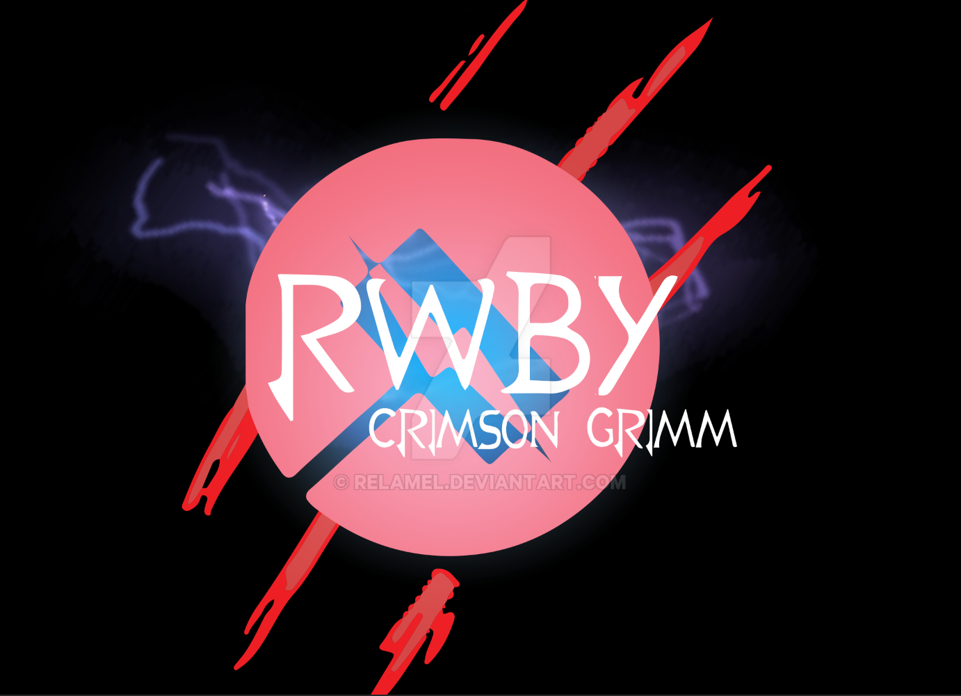 nora valkyrie logo added to rwby crimson grimm by relamel
