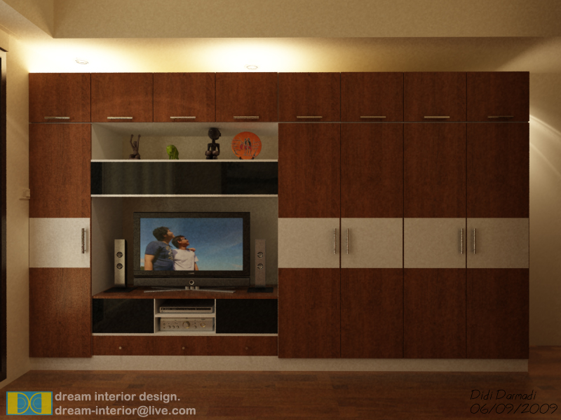 budget room design - cabinet by deArtz ...