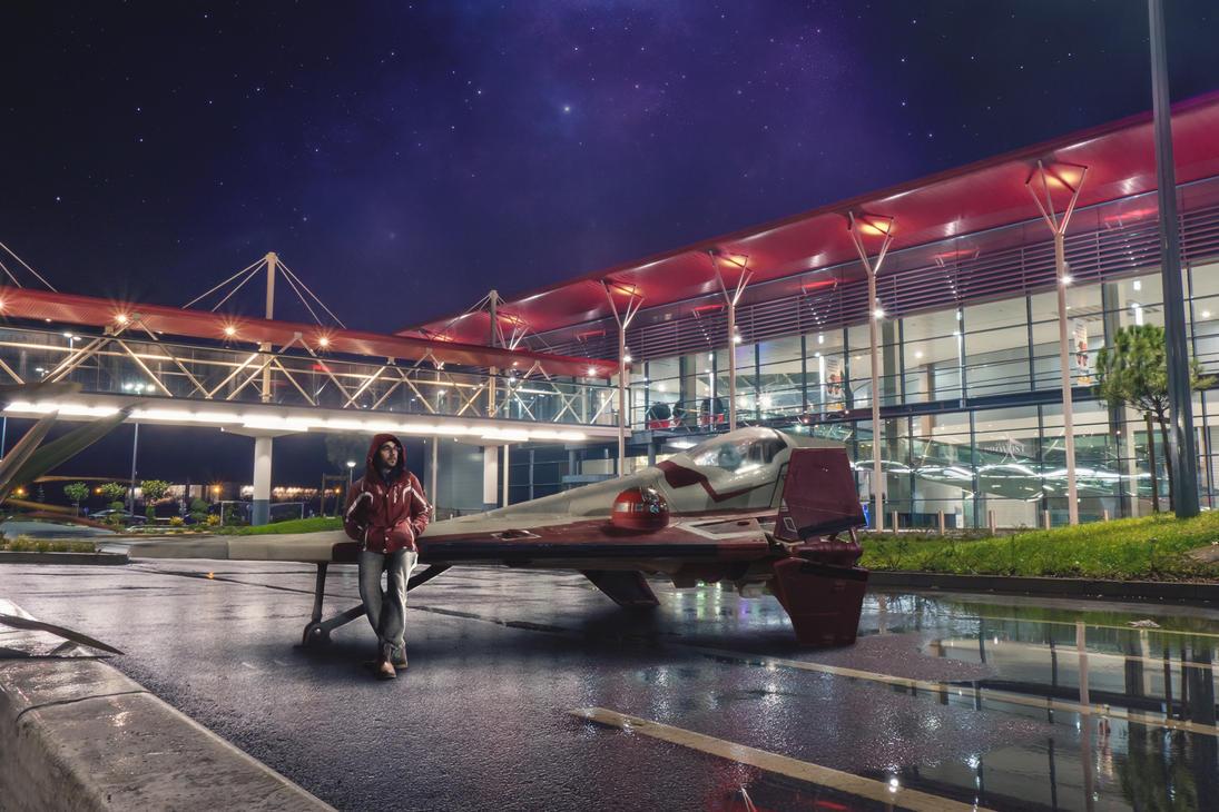 Jedi on Mission by DreamArts-Photo