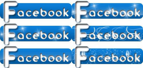Facebook Icons by alexandreperei