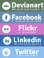 Social buttons by alexandreperei