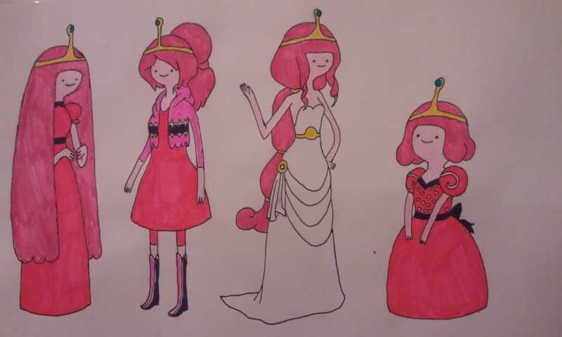 Adventure Time Princess Bubblegum By Kathryn Nova