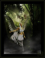Forest encounter by KiyaMM