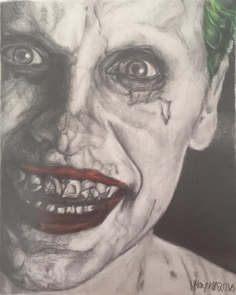 Joker  by artbymnm