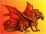 Commission - Brass Dragon