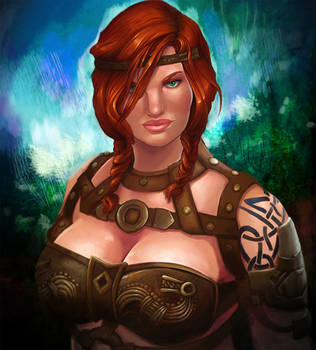 Norn Warrior by LuckyLemontina