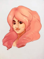 Rose Quartz by LuckyLemontina