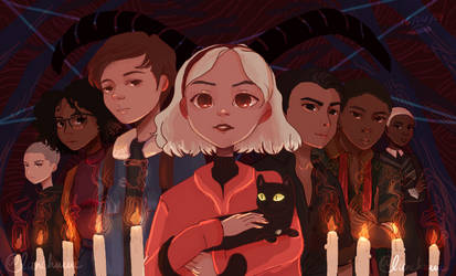 Chilling Adventures Of Sabrina FANART by Lanchuuu by lanchuuu