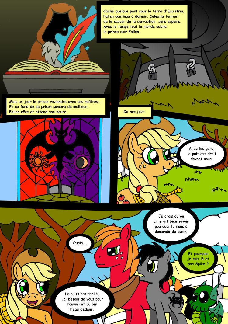 Ponynomicon : La chute de Fallen~page 5 by DrSGrowth