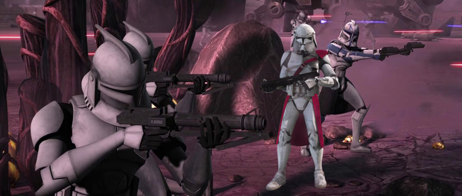 star wars the clone wars commander bacara by