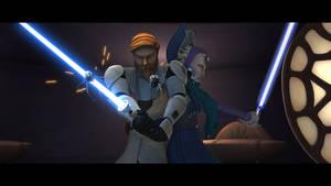 Jedi Masters Obi-Wan Kenobi and Satine Kryze