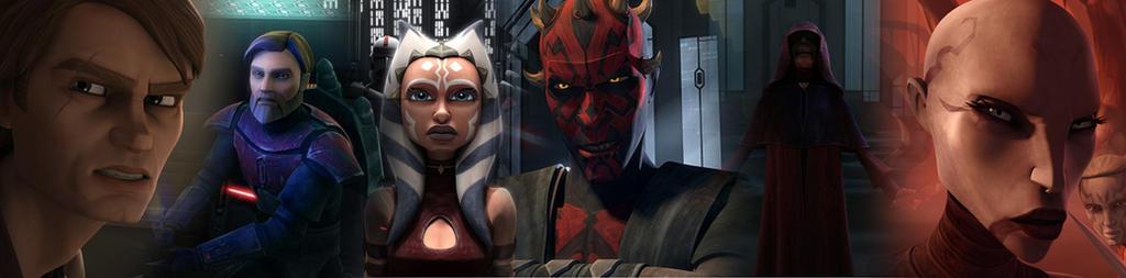 The Clone Wars Heroes Vs. Villains by Jordan1Kenobi