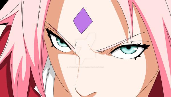 Sakura Haruno Angry by ravenuchihaforever