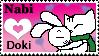 SamBakZa love Stamp by InvaderEma