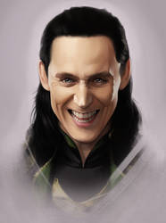 Loki - Fan Art 5 by AndromedaDualitas