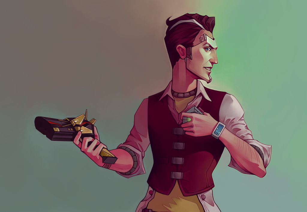 Handsome Jack - Fan Art by AndromedaDualitas on DeviantArt