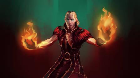 Anders - Justice's Burn by AndromedaDualitas