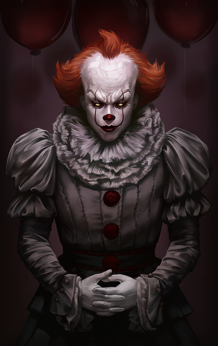 Pennywise 7 by andromedadualitas on deviantart - Pennywise wallpaper ...