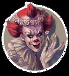Flower Crowned Clown