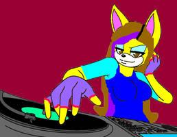 DJ K1tt3 by SilverNeko1