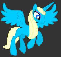 Pony Queen Elsa by SilverNeko1