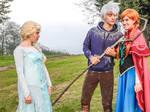 Elsa's jealousy ~ funny Jelsa Cosplay by LuXoN94