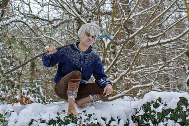 Jack Frost in the snow