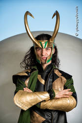 Loki cosplay @ Romics 2018